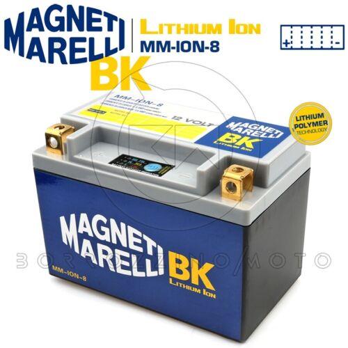 BATTERIA MAGNETI MARELLI LITIO MM-ION-8 YTX9-BS SUZUKI GSX-R K1//K2//K3 600 2001
