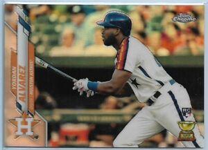 2020 Topps Yordan Alvarez Factory Set Chrome Image Variation Rookie #276 Astros
