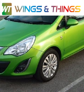 VAUXHALL CORSA D PASSENGER SIDE WING GREEN Z30P 2006 TO 2014 FREE UK POST