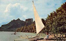 Bora Bora la plus belle ile du Monde Island Boat