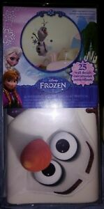 Details About Disney Olaf Snowman Frozen 25 Wall Decals Decorations Room Decor Stickers New