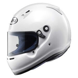 Helmet-Arai-CK-6-Karting-Go-Kart-Snell-CMR-Kid-Junior-Racing-White-XXS-51-52cm