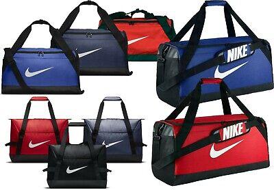 26a9f641 Details about Nike Brasilia Small Training Duffel Bag Unisex Travel Gym  Sport Men Woman Black