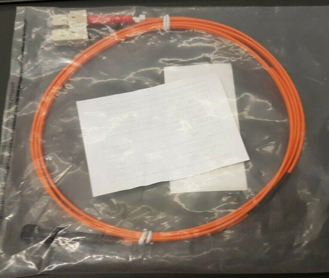 2m Fibre Optic SC/MTRJ Duplex Multi Mode Fibre Patch Cable