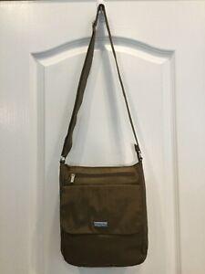 Baggallini-Womens-Crossbody-Shoulder-Messenger-Handbag-Brown-H6