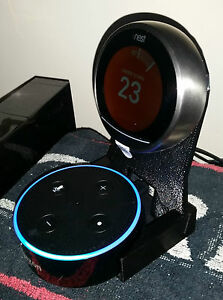 2in1 Nest Thermostat Amp Amazon Echo Dot Stand ☆ Alexa Voice