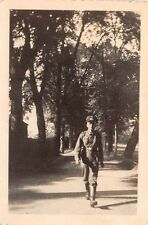 Foto Wehrmacht Soldat Kaserne in Grimma Sommer 1940 D20668