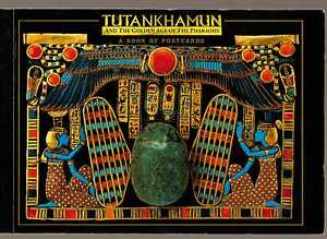 TUTANKHAMUN and the Golden Age of the Pharaohs POSTCARDS (30 Oversize Postcards)