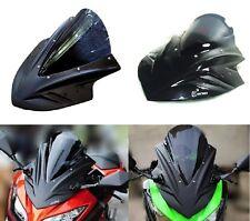 Front fairing cover Windshield for KAWAZAKI NINJA250/300  Black/Carbon