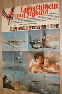 A0 Filmplakat  LUFTSCHLACHT UM ENGLAND ,CURD JÜRGENS,MICHAEL CAINE,HARRY ANDREWS