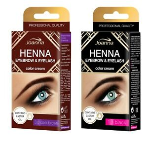 Joanna-Henna-Tint-Black-Brown-Cream-Eyebrow-Eyelash-Dye-Tinting-Lash-Kit-15ml