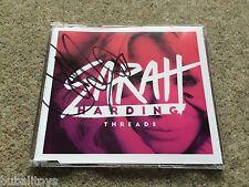 Sarah Harding - Threads 1 Track 2015 CD SINGLE *SIGNED* RARE! Girls Aloud