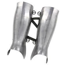 Medieval Renaissance Ancient Greek Hoplite Fully Functional 16g Greaves Armor