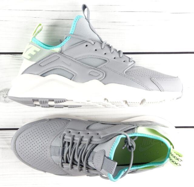 7224b94685565 Nike Air Huarache Run Ultra SE 875841-002 Wolf Grey Running Shoes Size 8.5