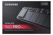 Samsung 960 PRO 512GB NVMe M.2 PCI-Express 3.0 Internal SSD 512G MZ-V6P512B