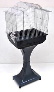Mega Cage à Oiseaux Perruche Canaris Avec Support Bonne Conservation De La Chaleur
