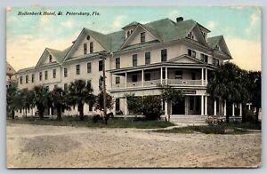 St-Petersburg-Florida-Horseback-Rider-at-Hollenbeck-Hotel-Dirt-Road-1912-PC