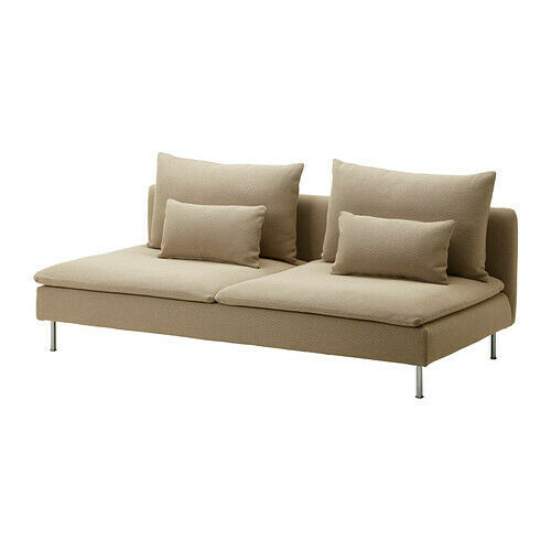 Ikea Soderhamn Sofa Bed Cover Replosa Beige 802 244 59