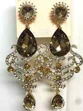Charms green crystal Teardrop Oval Fashion Gemstone Crystal Earring Party Hot