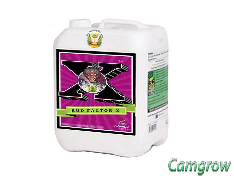 Advanced Nutrients-Bud Factor X 5 L-maximiza la producción de resina Hydroponics