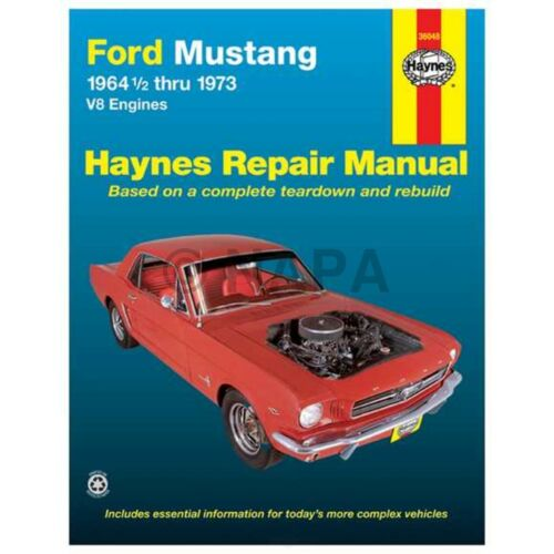 Repair Manual-Base NAPA//BALKAMP-BK 7991843 fits 71-72 Ford Mustang