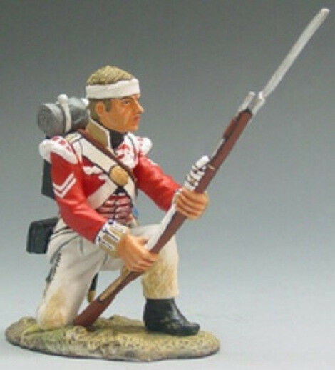 King & Land The Age Of Napoleon NA012 Britisch 71ST Highlander Kniend MIB