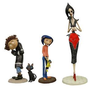 Coraline Best Of 3 Pvc Figurine 4 Pack Neca Ebay