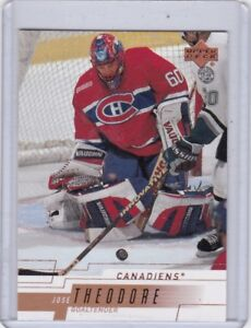 2000-01-UPPER-DECK-NO-96-JOSE-THEODORE-MONTREAL-CANADIENS