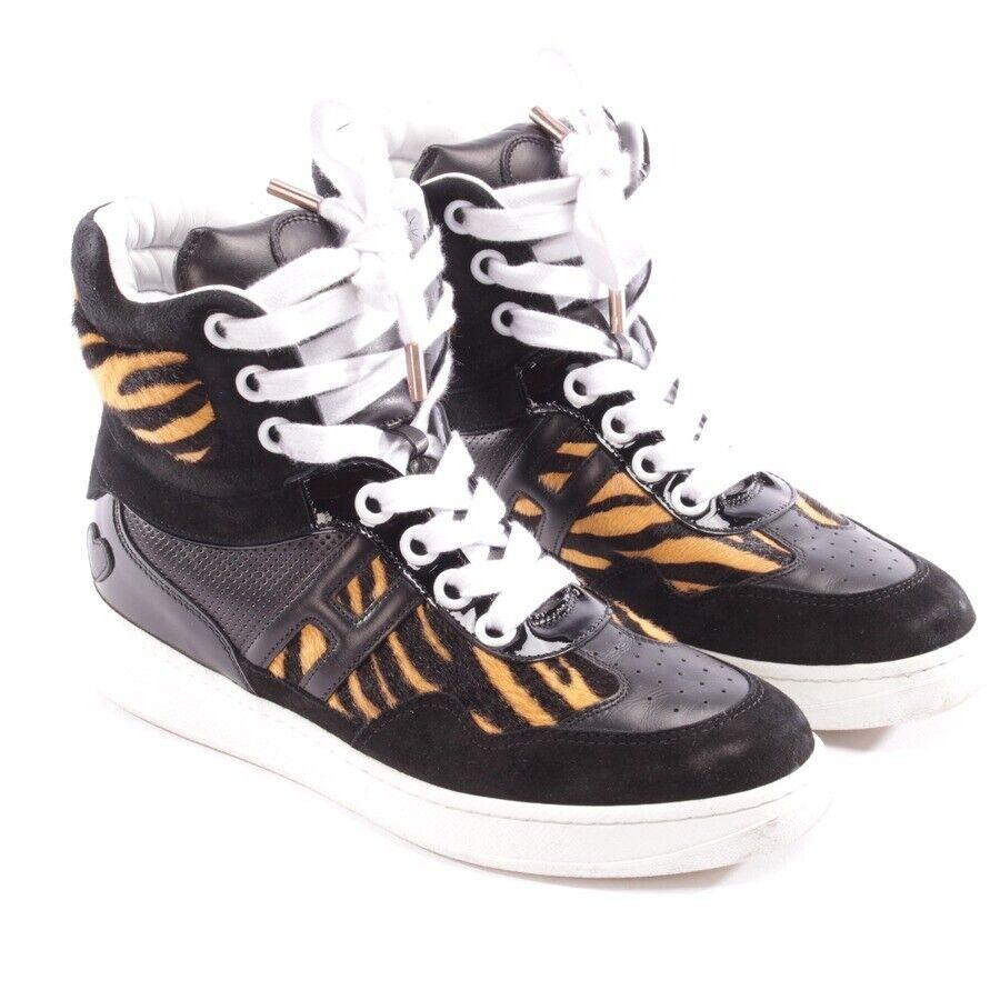 Katie Grand for Hogan High-Top Sneaker Size D 36 Black Ladies shoes shoes