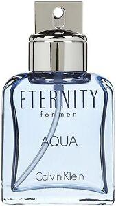 Calvin Klein Eternity Aqua For Men 50ml Edt Spr BRAND NEW IN BOX