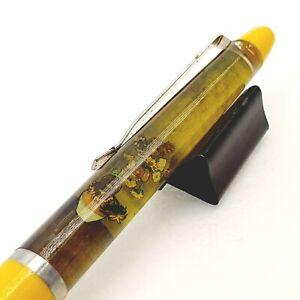Vincent Van Gogh floaty floating ballpoint pen Vintage 1980's Denmark