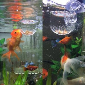 2PCS-Feeding-Cone-Cup-Brine-Shrimp-Live-Worm-Fish-Feeder-Aquarium-Practical-New