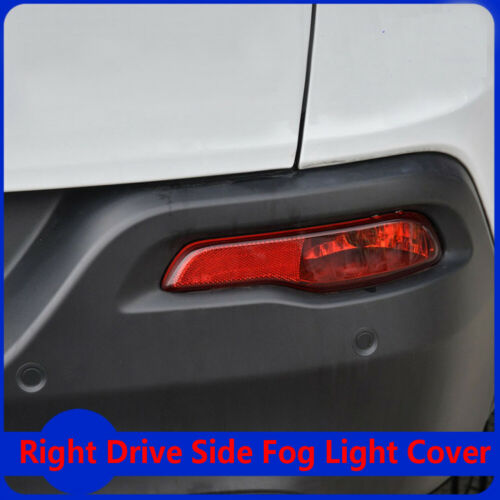Rear Bumper Right Side Reflector Cover Accessorie Fits Jeep Cherokee 2014-2018
