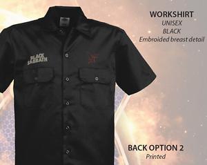 BLACK-SABBATH-Dickies-Work-Shirt-Embroidered-NEW