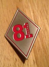81 support  Enamel Pin Badge Motorcycle Biker Hells Angels  59 Rocker Outlaw Ace