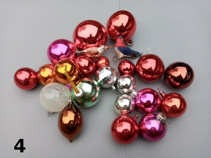 Julepynt - glaskugler