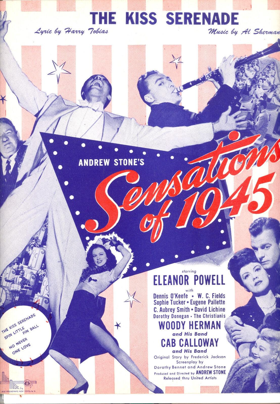 SENSATIONS OF 1945 Sheet Music