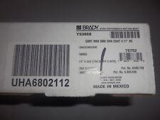 Brady 76752 Globalmark 200 Foot Length X 411 Inches Width Orange Ribbon