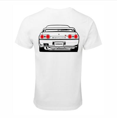 NISSAN SKYLINE R34 GTR RB26 T-SHIRT COTTON RACE CAR TURBO JDM DRIFT SHIRT GIFT