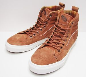 1067420962 VANS Sk8-HI 46 (MTE) DX Glazed Ginger  Flannel VN-0A3DQ5OGT Men s ...