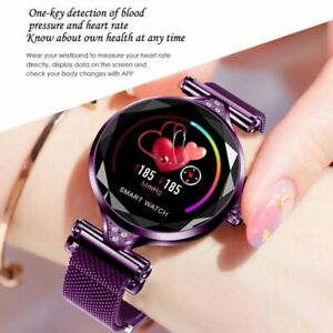 Details about H1 Women Lady Bluetooth Heart Rate Blood Pressure Monitor  Smart Watch Bracelet