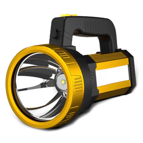 Wiederaufladbarer LED-Suchscheinwerfer Tragbarer Handscheinwerfer//UV-Taschenlamp