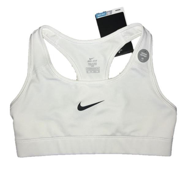 e6561140f0016 Nike Womens Victory Compression Sports Bra White black All Sizes XS ...