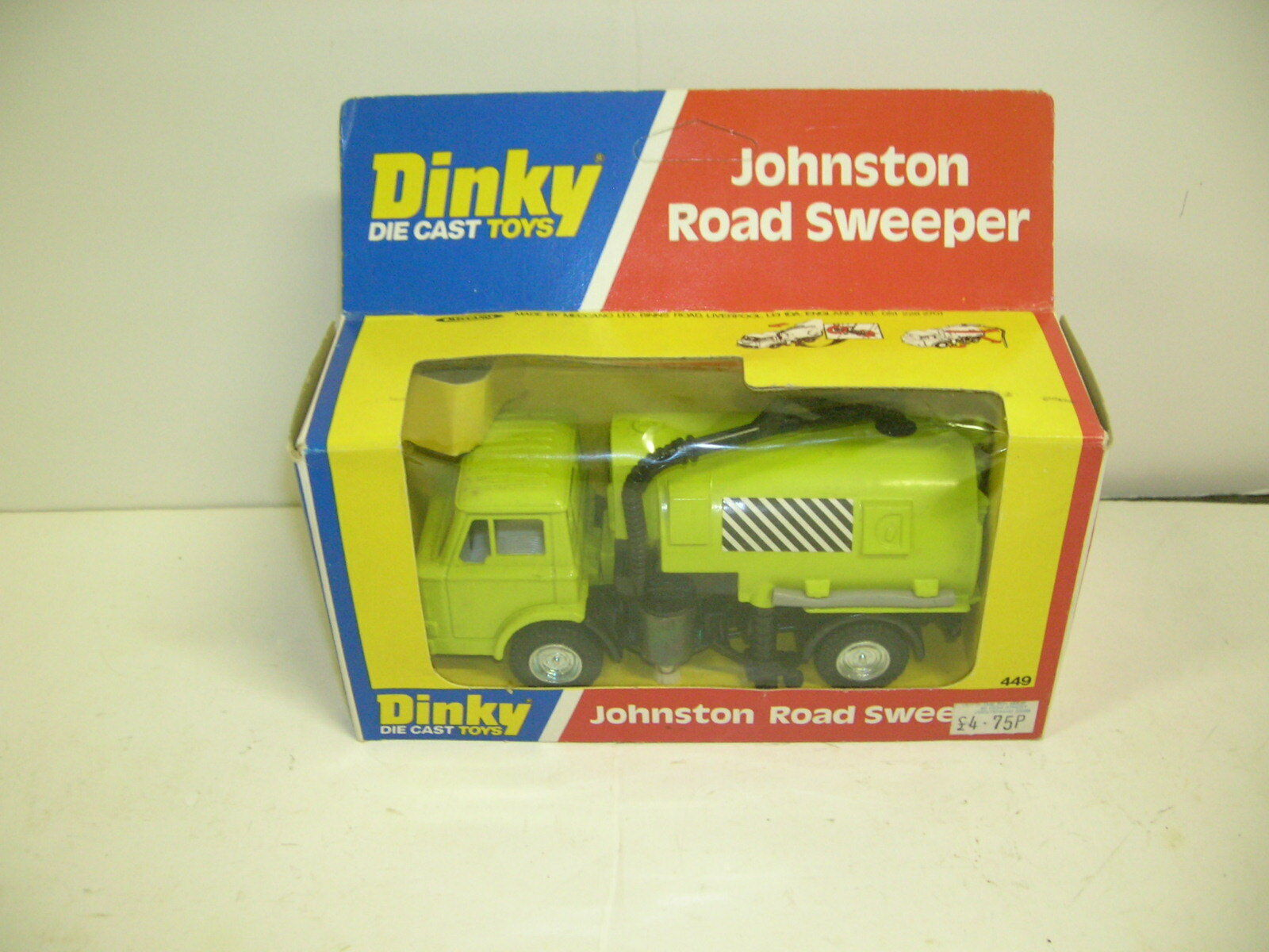 DINKY JOHNSTON ROAD SWEEPER - MINT - MAKE OFFERS