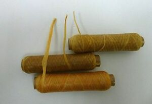 US-SINEW-All-Size-BOBBIN-Sinue-wax-thread-craft-artificial-bead-loom-weave-dream