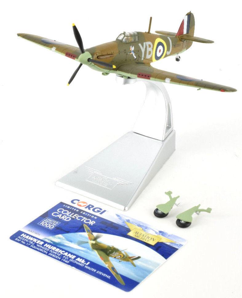 Corgi Hawker Hurricane Mk.I - Debden 1940 1 72 Die-Cast Airplane AA27606