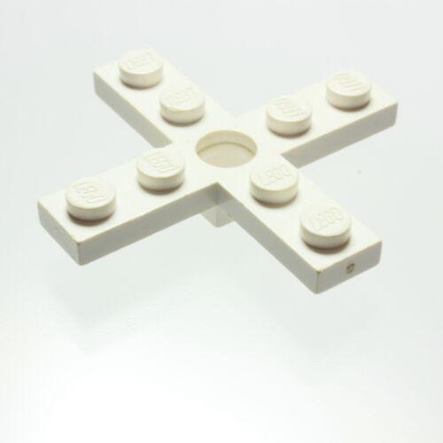 LEGO® Propeller 4 Blade 5 Diameter mit Loch für Rotorhalter weiß 3461 LEGO Bausteine & Bauzubehör