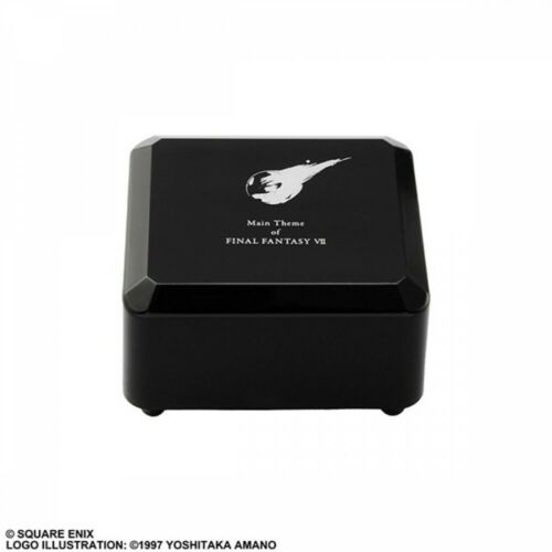 Final Fantasy VII Music Box FFVII Main Theme Black Square Enix JAPAN Limited PSL