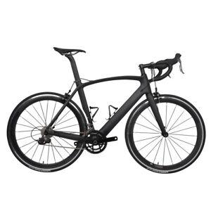 700C-Bicycle-Complete-cycling-aero-Road-Bike-Wheel-Aluminium-Carbon-handlebar
