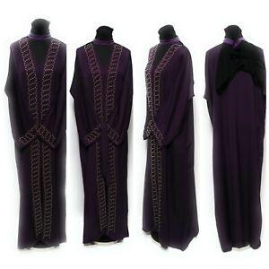 Women Moroccan hooded Long Maxi Dress.Djelleba Abaya Robe Kaftan Jilbab.burka